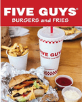 Five Guys Morgantown Logo